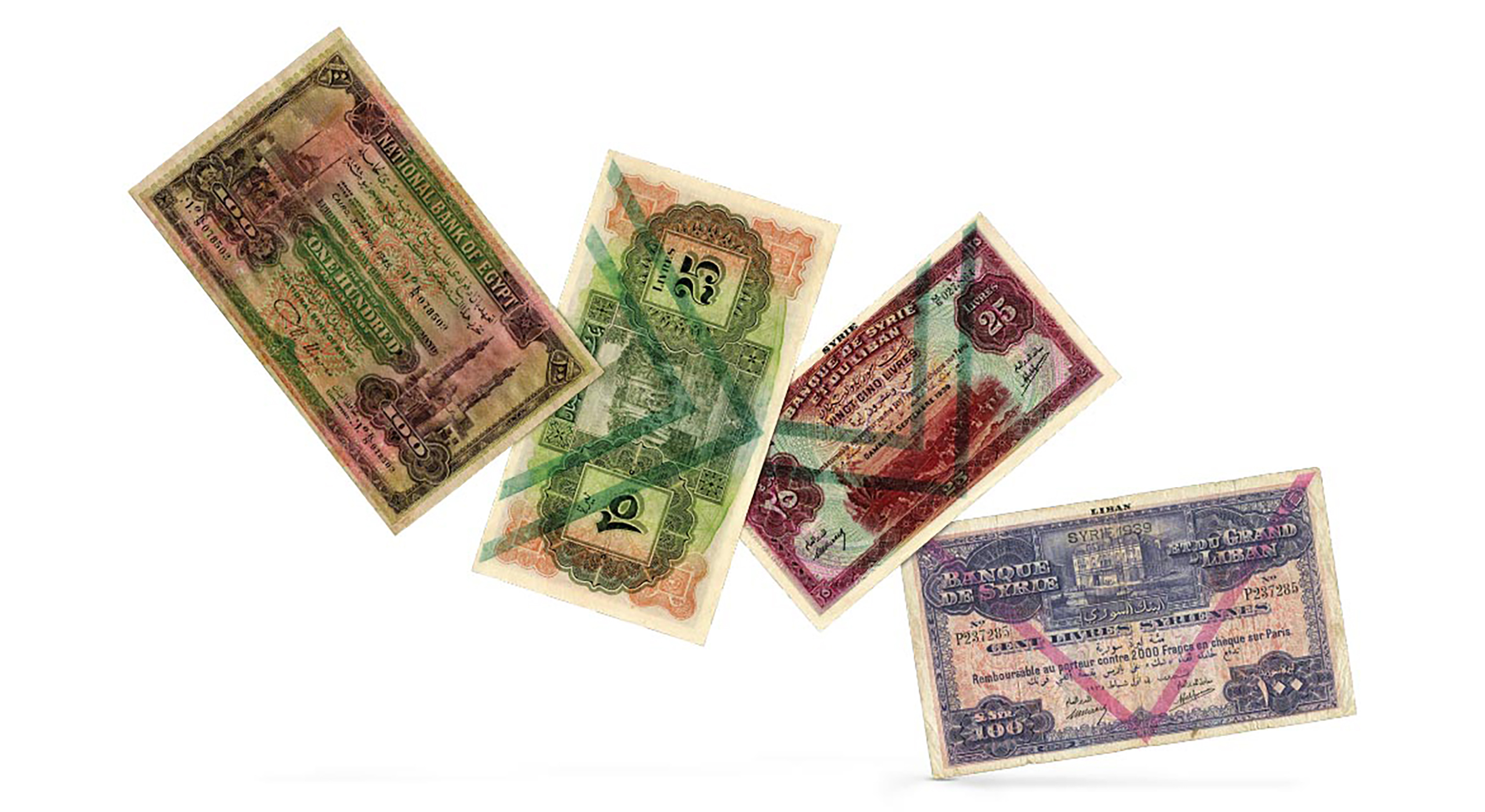 Photography of world banknotes from several periods, photographed for Morton and Eden in association with Sotheby's sold in auction in London Photography and retouch by Maria Queralt