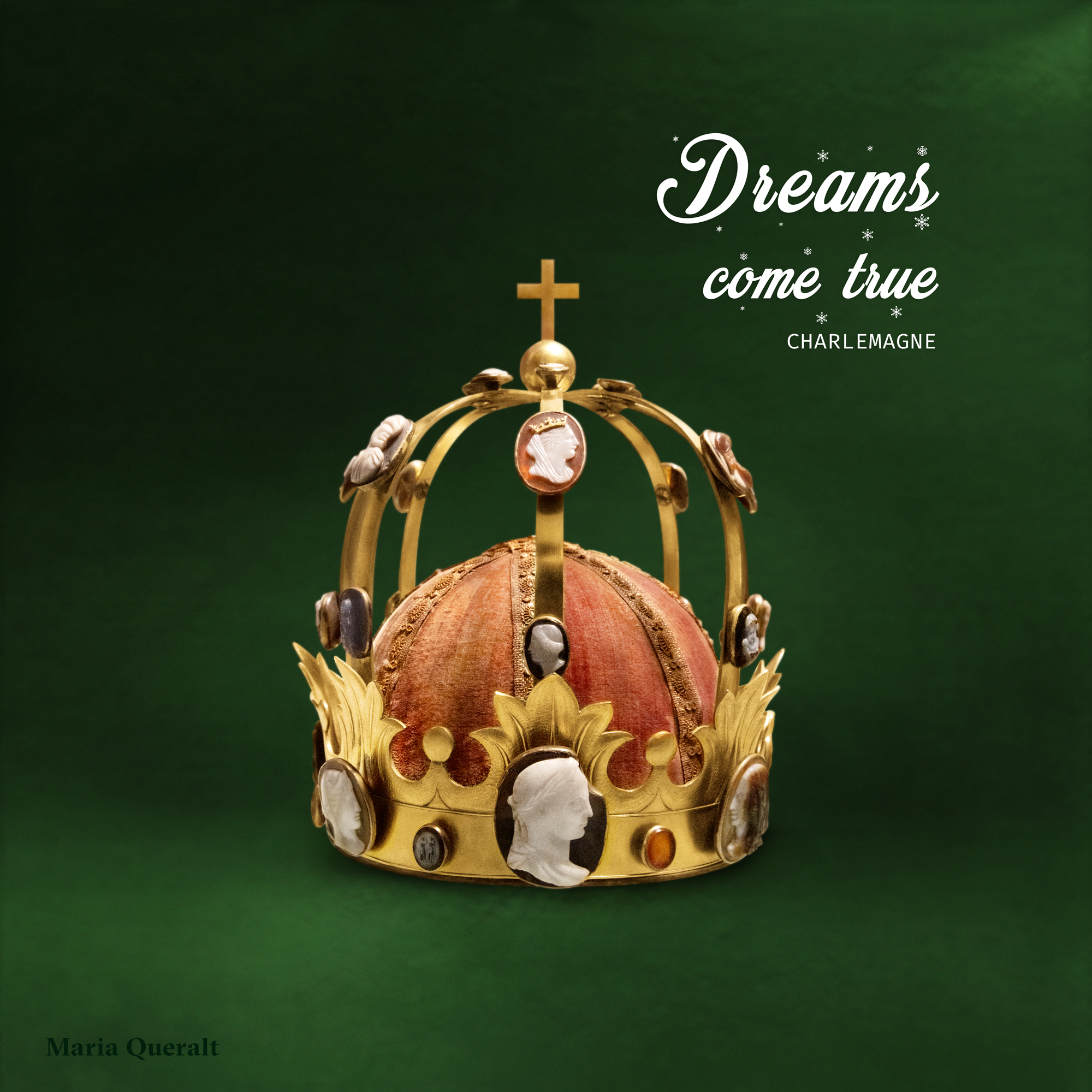 Wishing you a Merry Christmas. Crown of Napoleon named Crown of Charlemagne. Photography and retouch by Maria Queralt