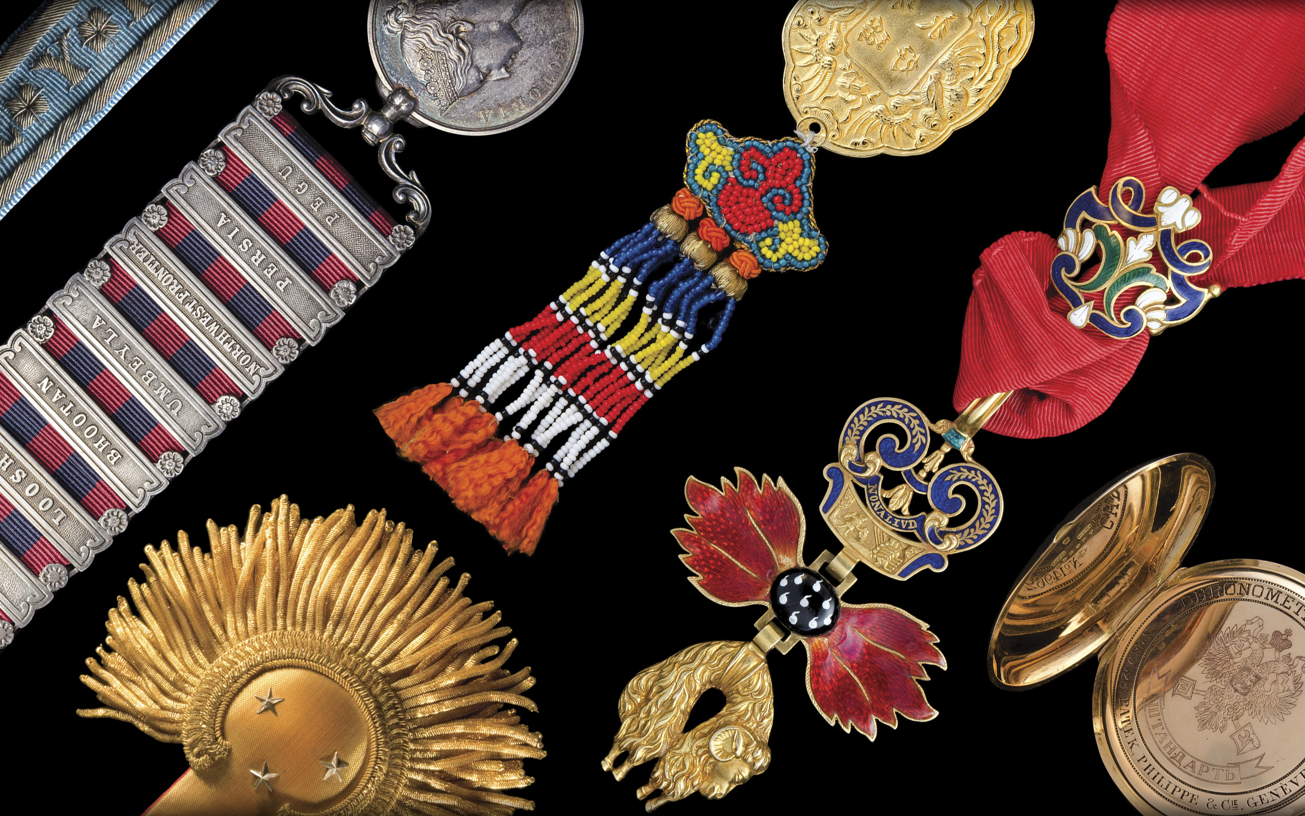 Photography of Medals, Orders and Decorations from several periods and countries, photographed for Morton and Eden in association with Sotheby's sold in auction, London Photography and retouch by Maria Queralt
